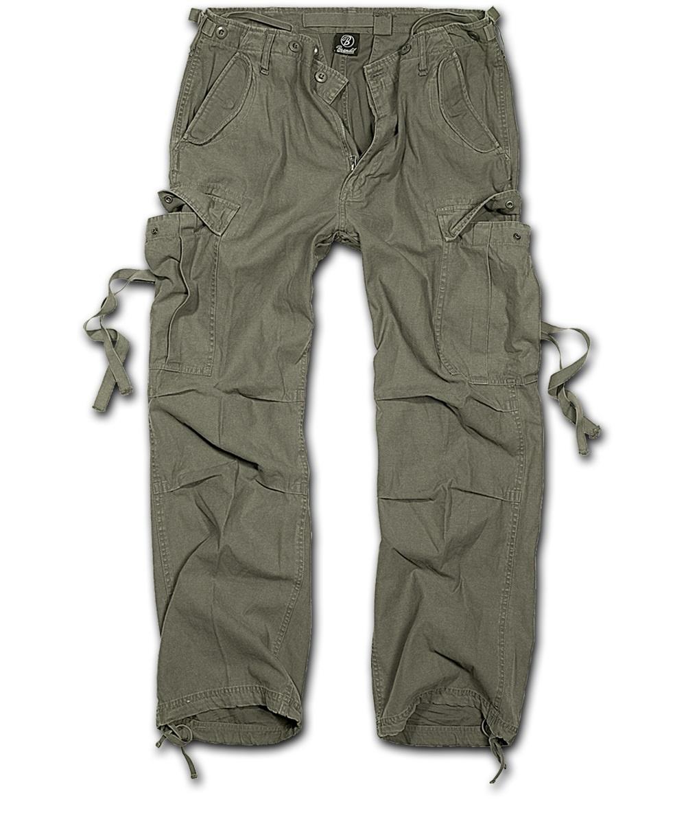 Nohavice BRANDIT M-65 Vintage olivový XL
