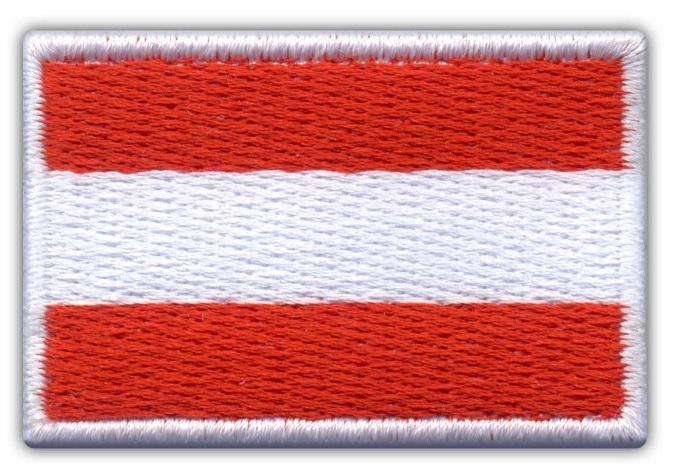 Купить Австрия Полоса Флаг Австрии, Австрийская ВЫШИВКА на Otpravka - цены и фото - доставка из Польши и стран Европы в Украину.