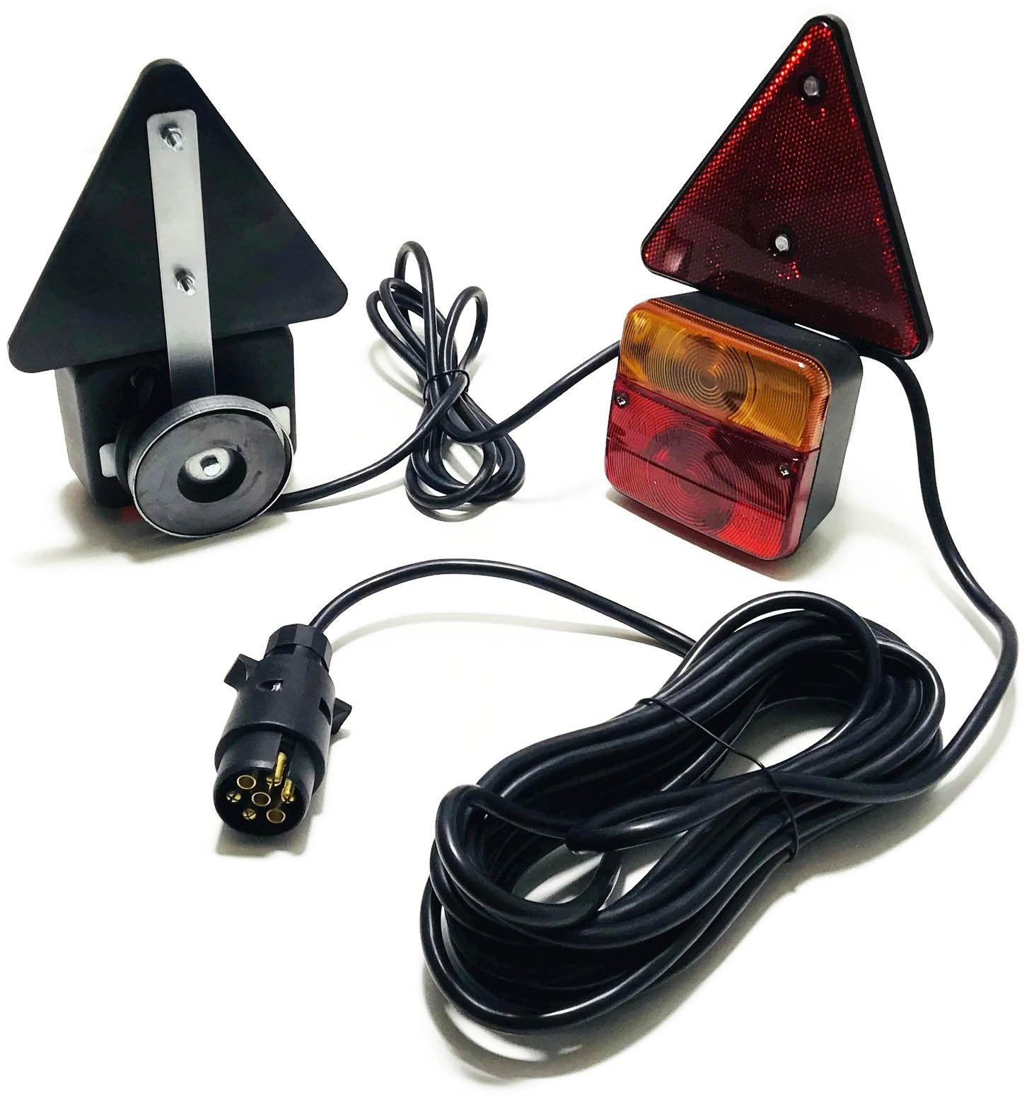 лампы задние комплексные прицеп магнит треугольник компл