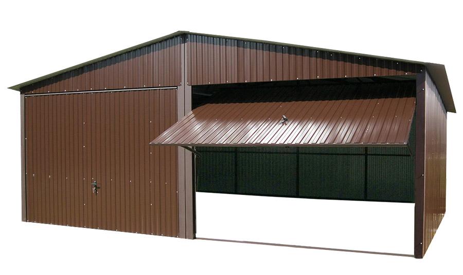 Tin Garages 6x5 Tin Garage Tinplate Бронза