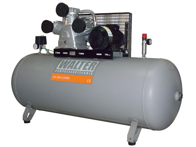 Kompresor WALTER GK 880-5,5 / 500 500LITR