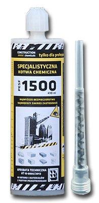 Chemická kotva 410ml živica vložiť Maltové lepidlo