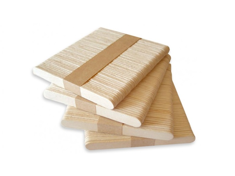 Item Sticks for ice cream 200pcs wooden 13.5 cm PA11/200