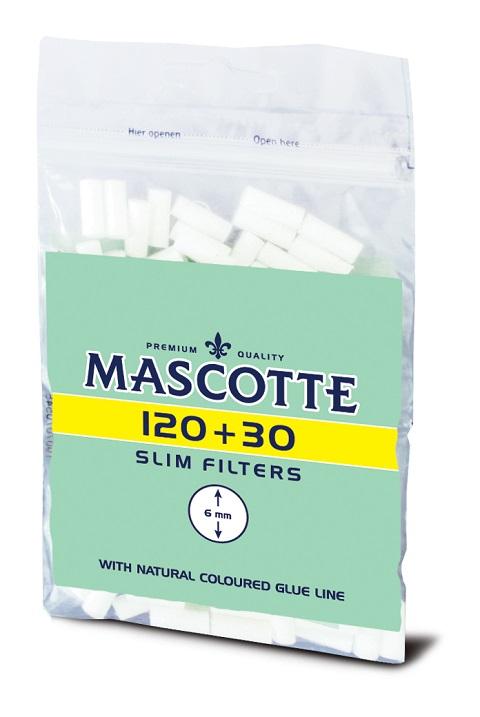 Mascotte тонкий сигаретный tipy фильтры 150pcs