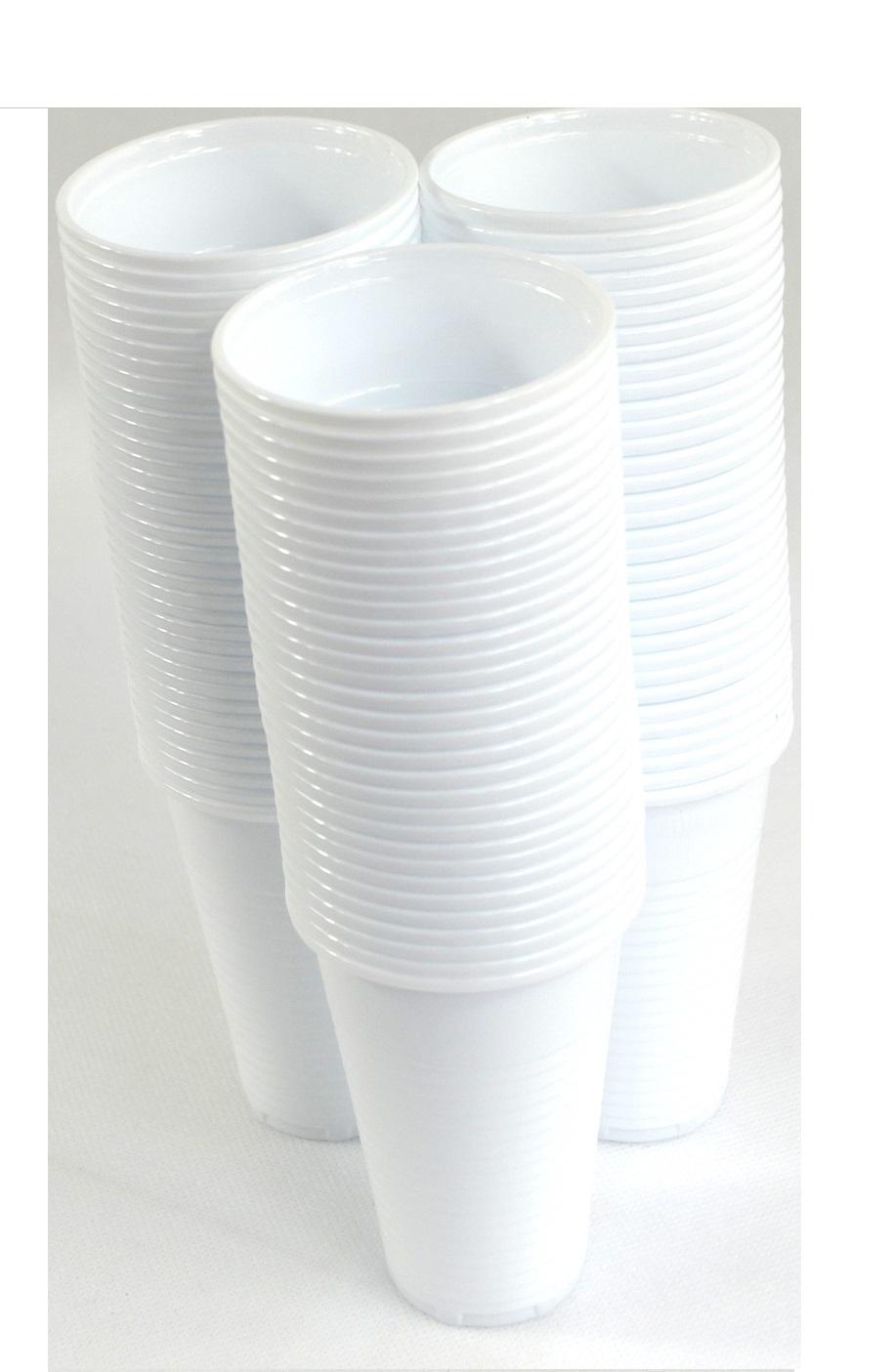 Jednorazové plastové poháre 200ml misky