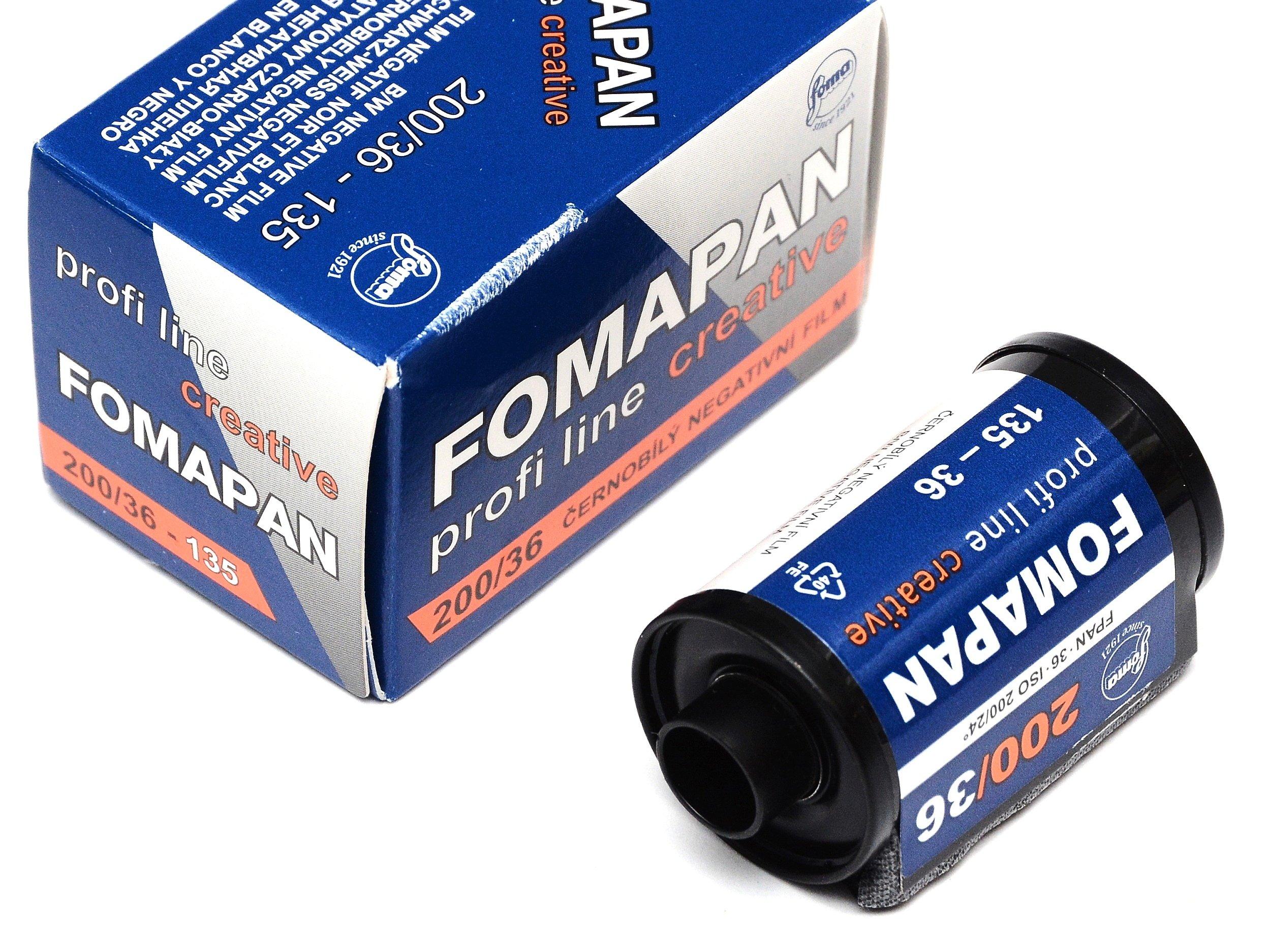 Купить Fomapan 200/36 негатив пленка пленка B&W 12.2022 на Otpravka - цены и фото - доставка из Польши и стран Европы в Украину.