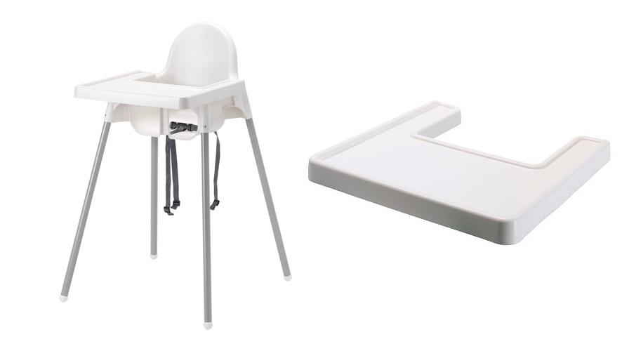 Item IKEA Antilop Highchair with tray movement HIT