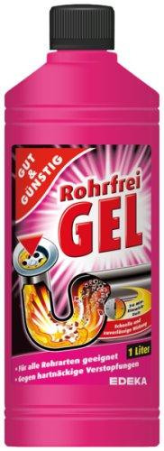 G&G гель для прочистки труб, очистки 1л