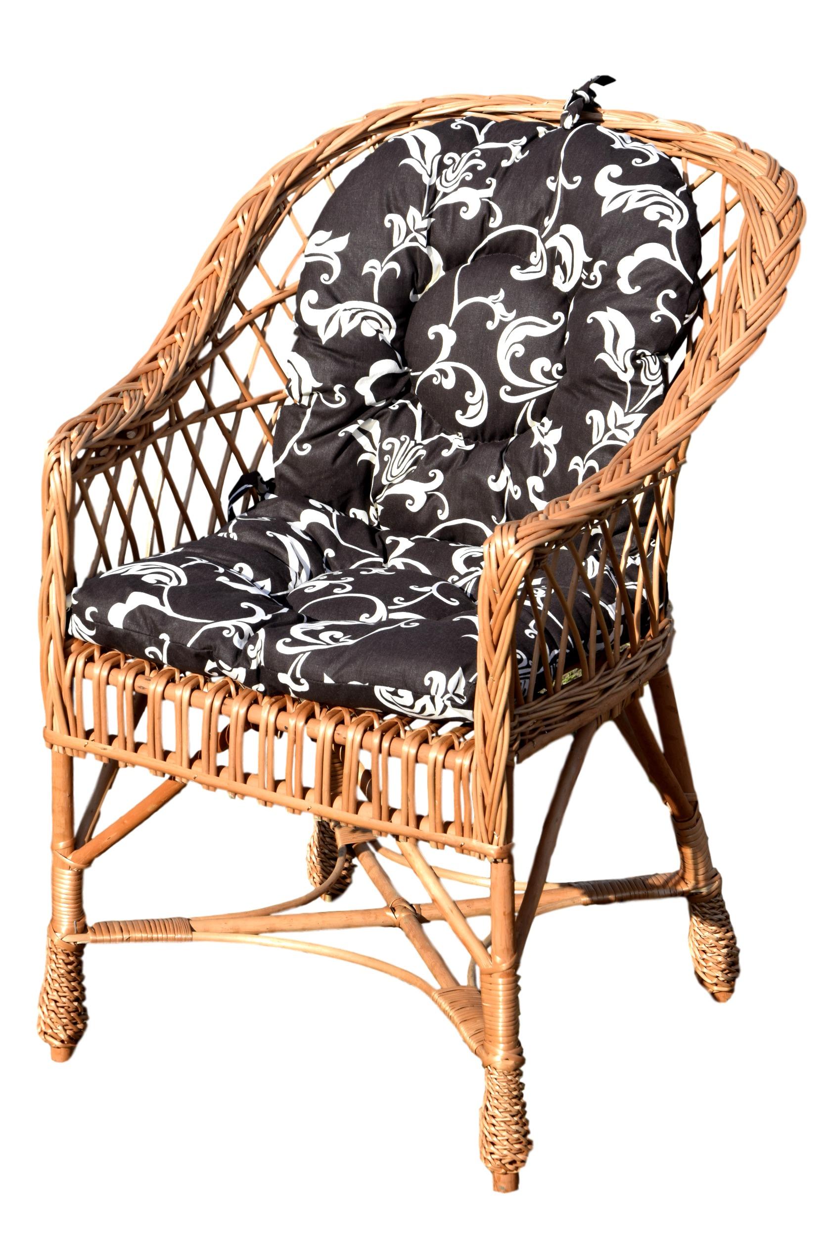 Poduszki Na Fotele Wiklinowe Allegro Q Housepl