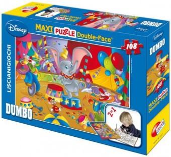 Obojstranný Maxi Dumbo 108 El puzzle. 31689