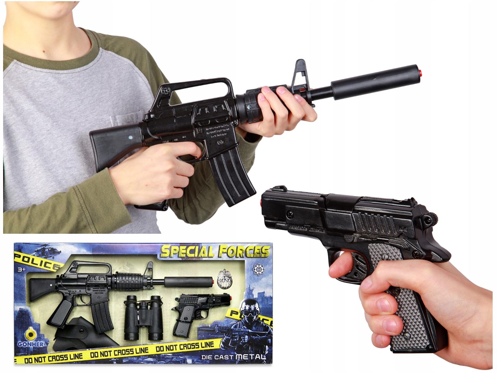 Detská pištoľová puška 5 v 1 AKO SKUTOČNÁ