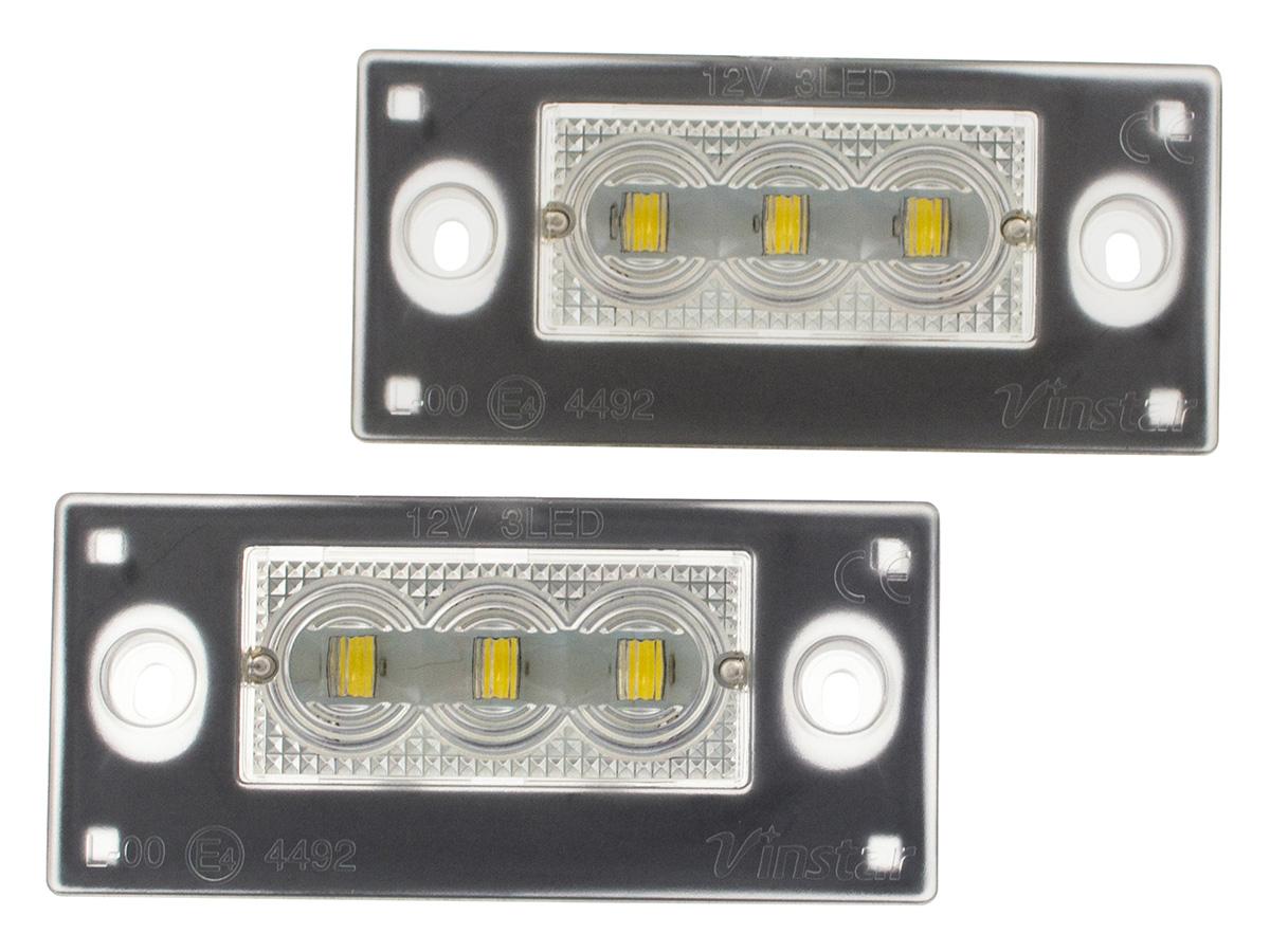 лампы led подсветка audi a4 b5 avant a3 8l fl