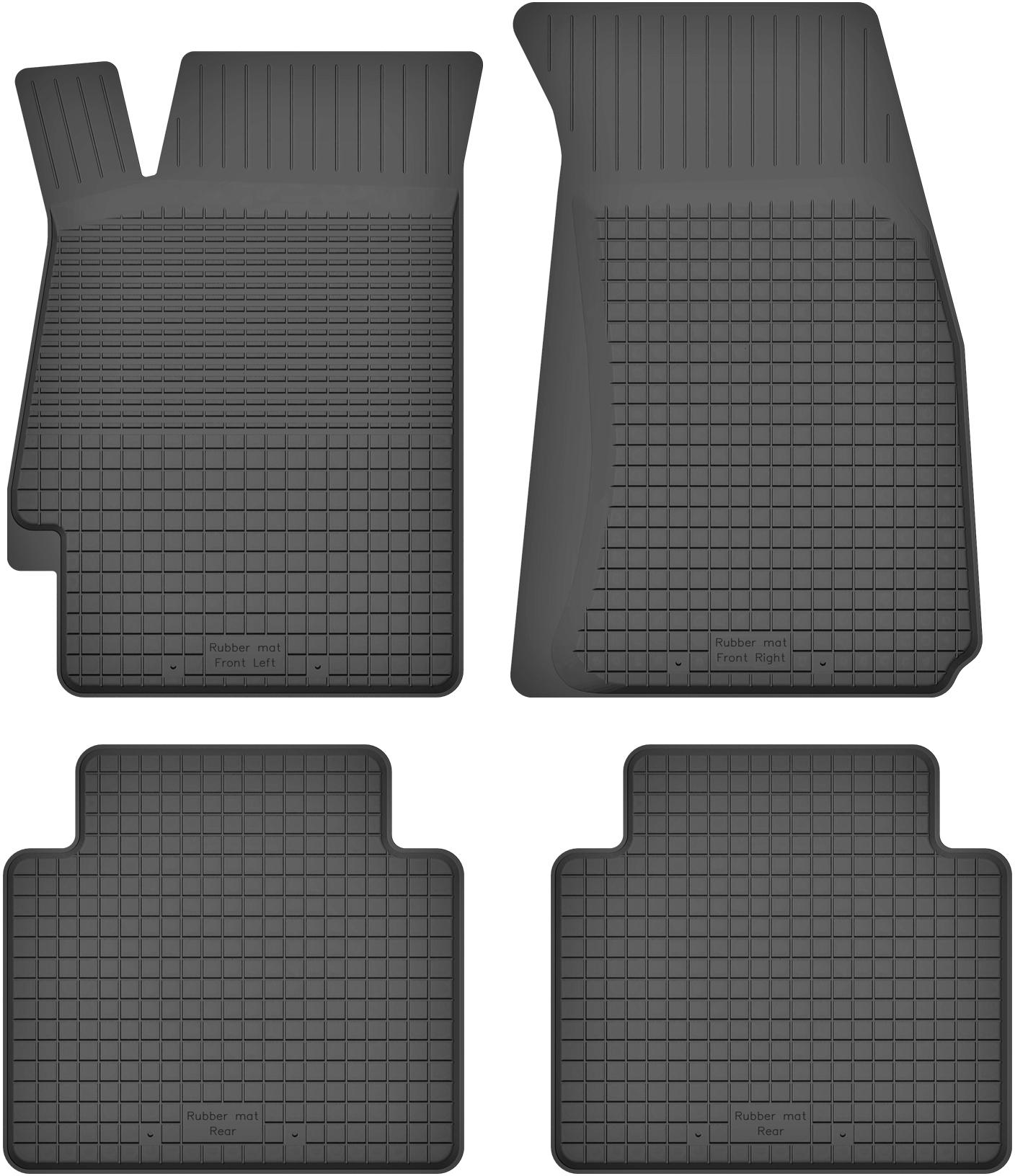 Subaru Legacy IV (03-09) DYWANIKI GUMOWE KORYTKOWE