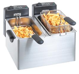 Bartscher 2x4l Fryer French Fries Promotion!