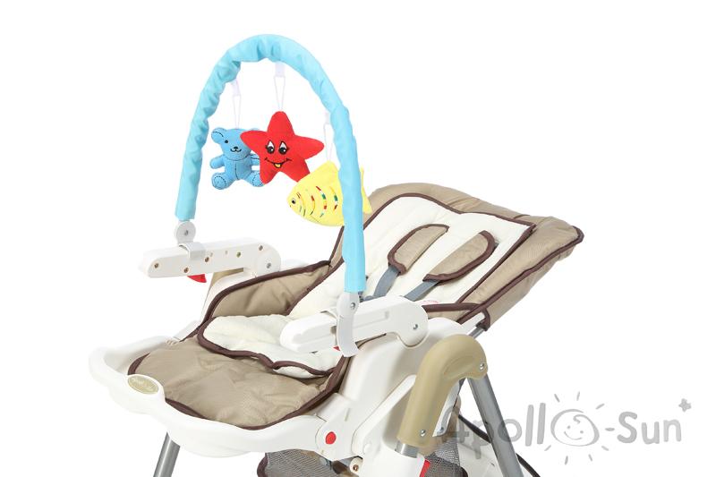 Headband Bow Hračka Detské stoličky kŕmenie