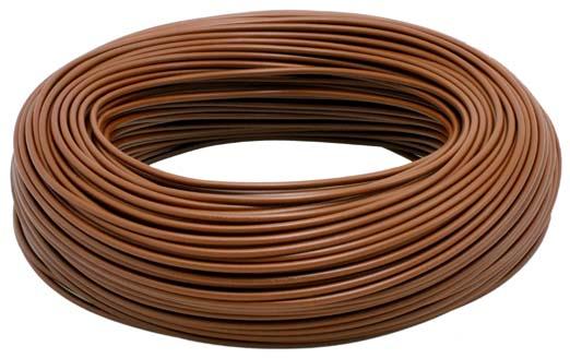 кабель lgy 1 5mm коричневый