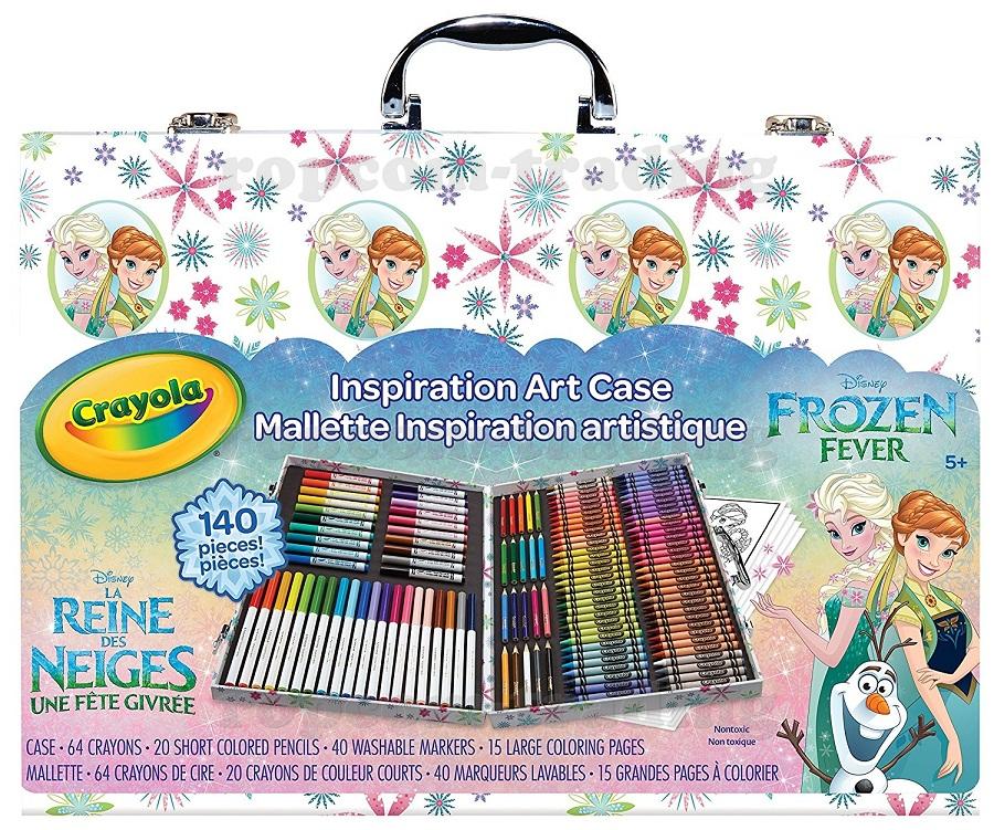 Mrazené Súbor Plast v prípade Crayola Pastelky