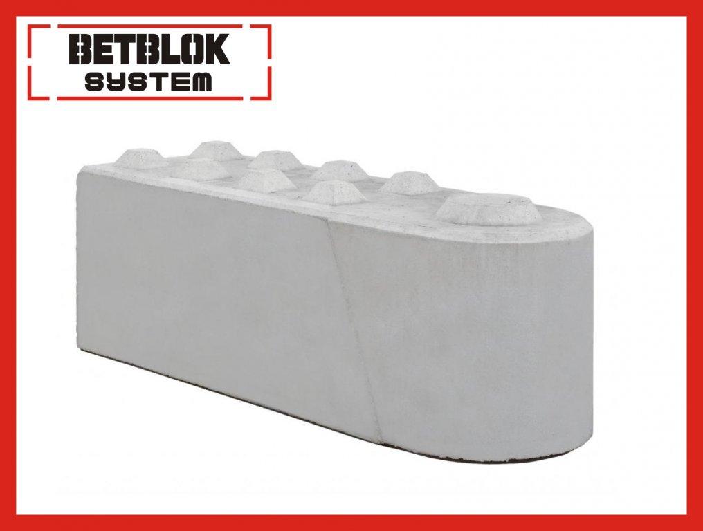 Betónové bloky. Odporové steny (nie ELK ELK)