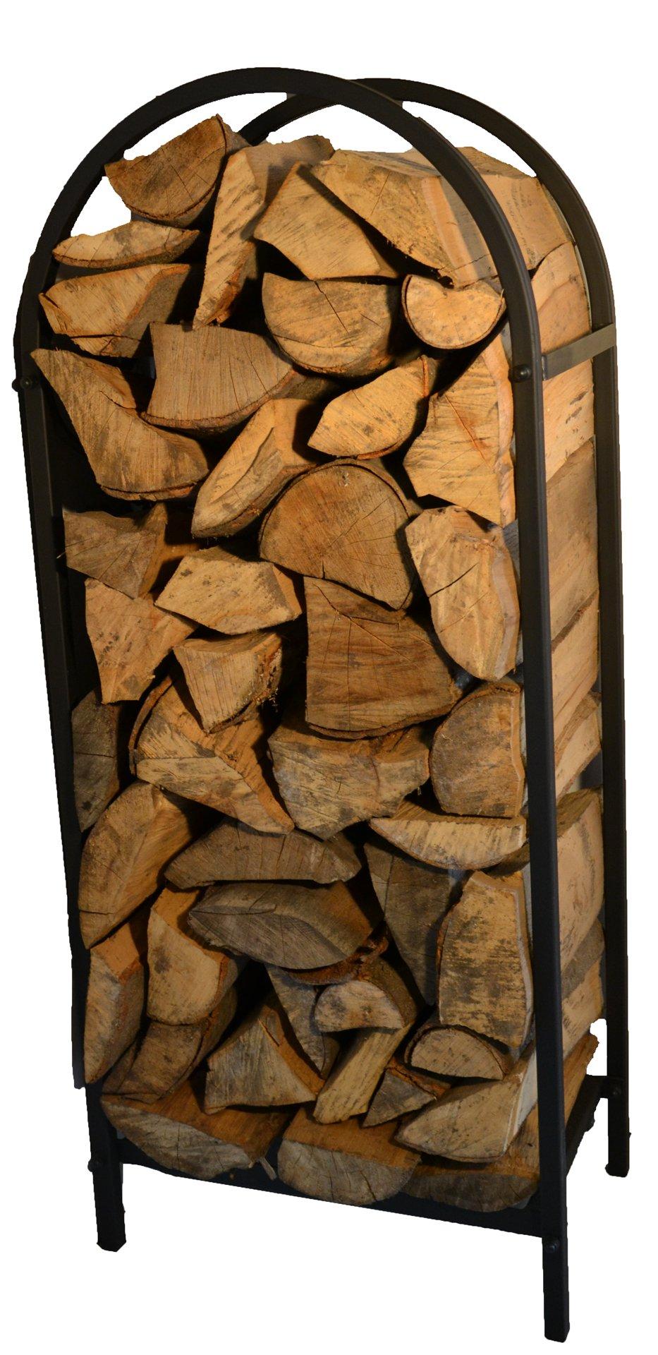 Стенд на дерево, дрова, металлическая корзина