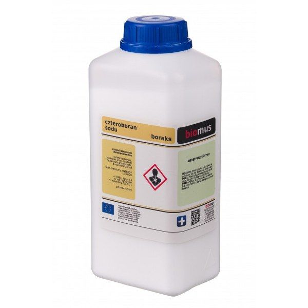 Бура тетраборат натрия 1 кг 99,9 чистой Biomus