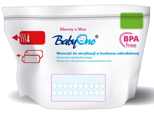 Item BABYONO PACKAGES TO STERILIZE BOTTLES, NIPPLES