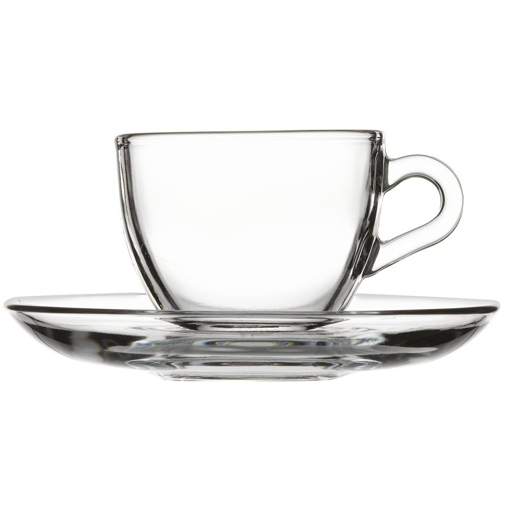 Espresso Coffee Cups 6 ks 90 ml Pasabahce