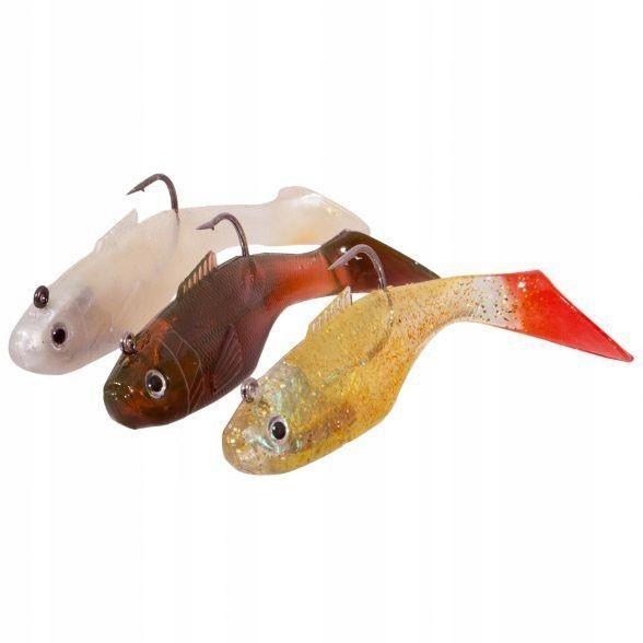 Gumové ryby Spectec 10cm, Nastavte A (3ks)