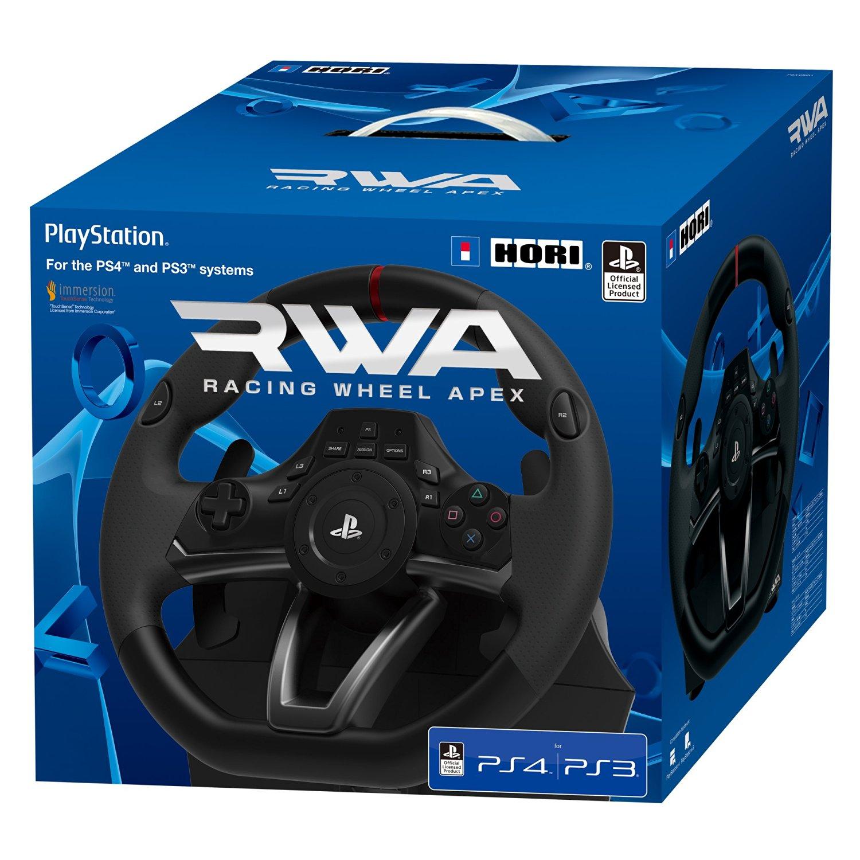 Hori Volant RWA Racing Wheel Apex PS3 PS4 PC