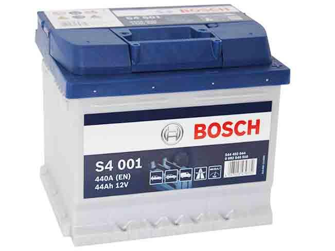 аккумулятор bosch s4 44ah 440a 44 ах silver s4