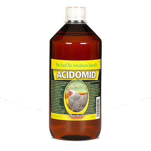 ACIDOMID 1Л на бактерии kokcydia ПТИЦЫ Benefeed