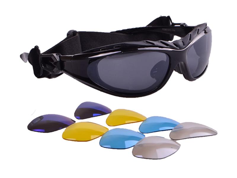GOGGLES GOGGLES BIKE SPORT + 5 Odnímateľné okuliare
