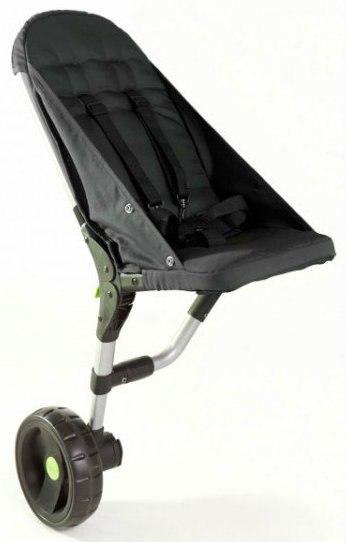 Buggypod Lite Black - rozšírenie na vozík
