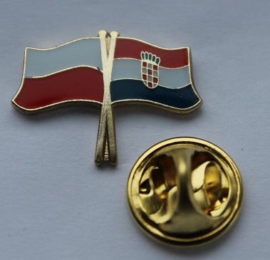 Купить Pin застежка марку флаг Польша - Хорватия на Otpravka - цены и фото - доставка из Польши и стран Европы в Украину.