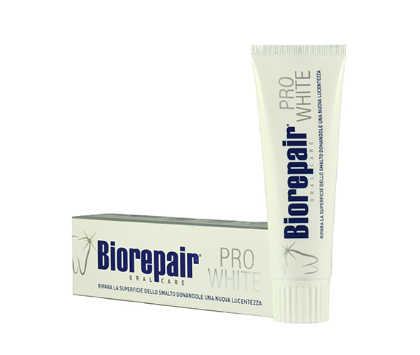 Biorepair Pro White Отбеливающая зубная паста 75м