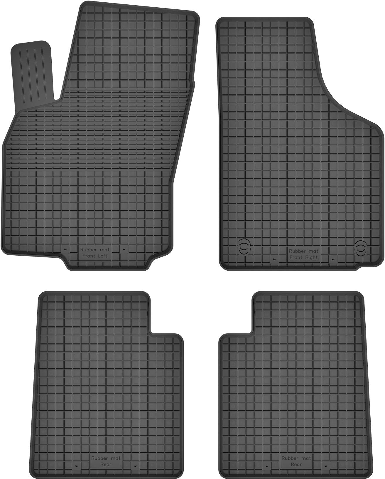 Renault Twingo I (93-06) РЕЗИНОВЫЕ КОВРИКИ с БОРТИКОМ