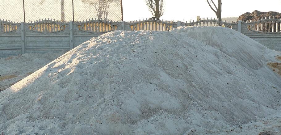 Štrková piesok opláchnutá 0-2 mm Śrem