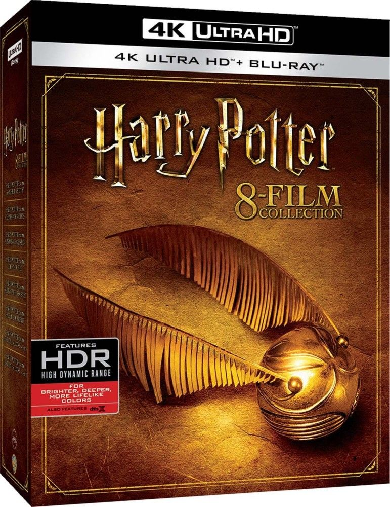 Item Harry Potter 1-8 [8 UHD Blu-ray 4K] 5 movies with EN