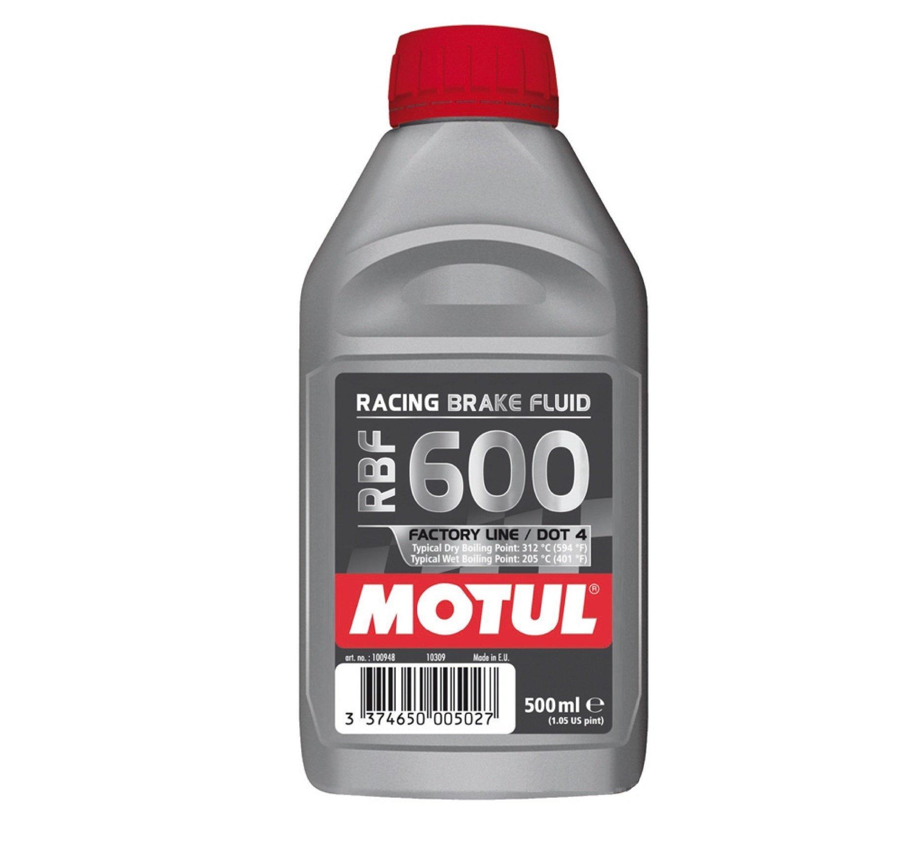 MOTUL RACING BRAKE FLUID RBF600 DOT4 500МЛ