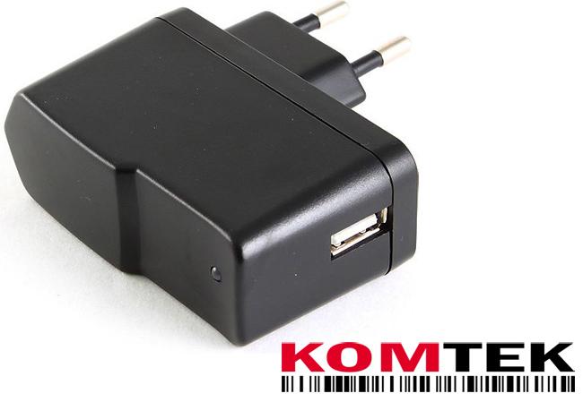 Adapter zasilania ładowarka na USB 220 V 2A KRK FV