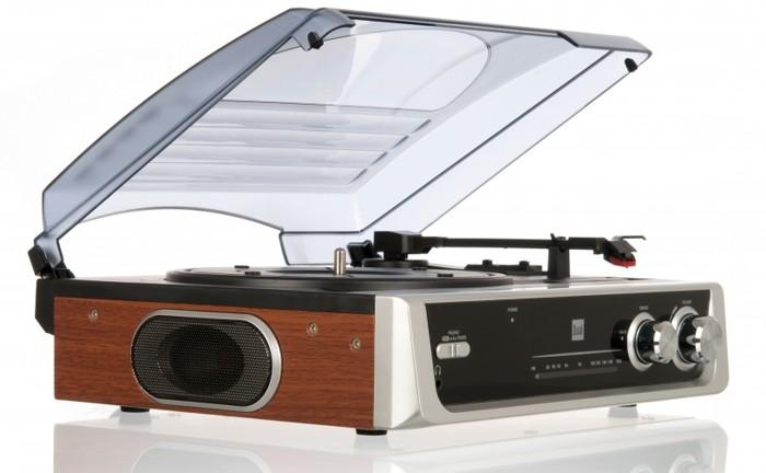 Gramofóny Hi-Fi DUÁLNA DTR 50 Retro FM Rádio