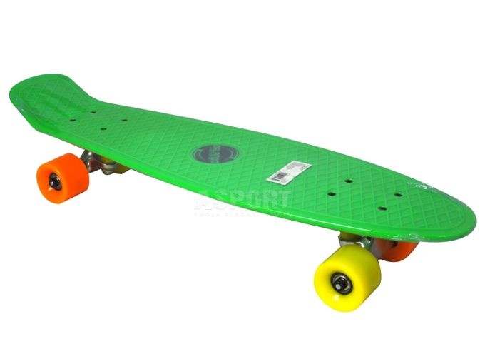 Skateboard FISZ AXER ORLANDO veľký, do 100 kg - zelený