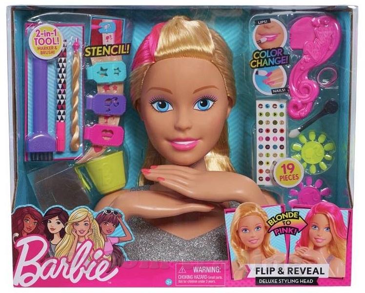 Manikúra na hlave Barbie Visage 30c delux