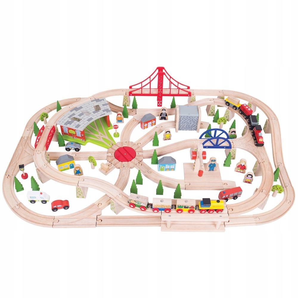 Drevená hračka pre deti Sada 130 ks. Bigjigs
