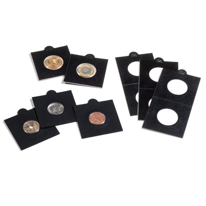 HOLDERY НА Монеты LEUCHTTURM 50 штук 35 черные