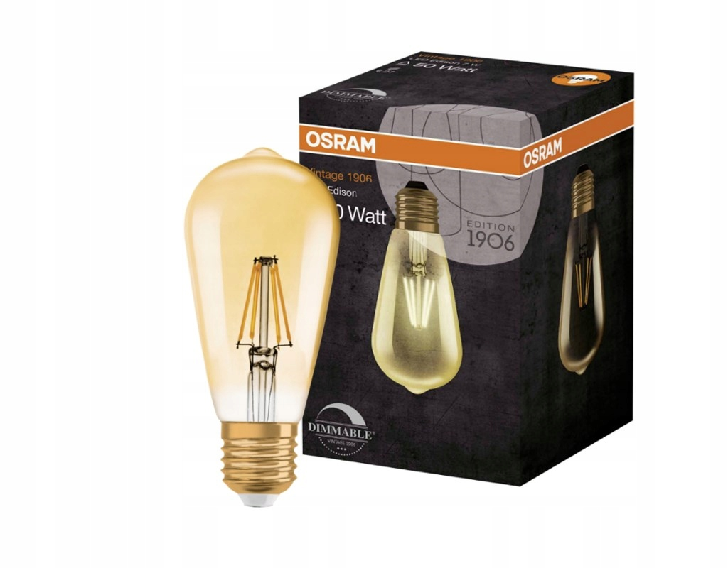 LED žiarovka 2.8 W=22W E27 Ciepła1906 Vintage OSRAM