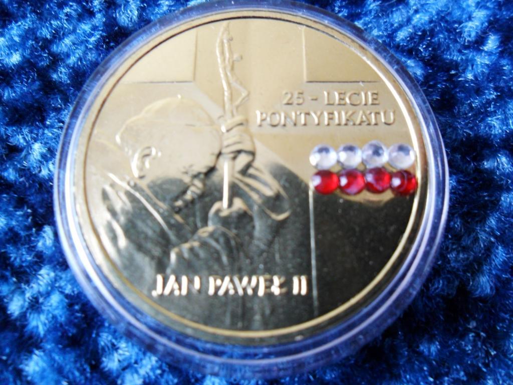 Купить PONTYFIKAT JANA PAWEŁA II Z CYRKONIAMI CYRKONIE на Otpravka - цены и фото - доставка из Польши и стран Европы в Украину.