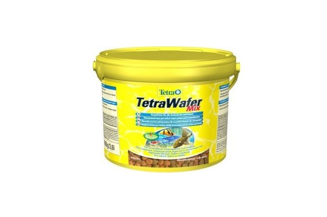 Pokarm Tetra WAFER MIX 50g GLONOJAD uzupel