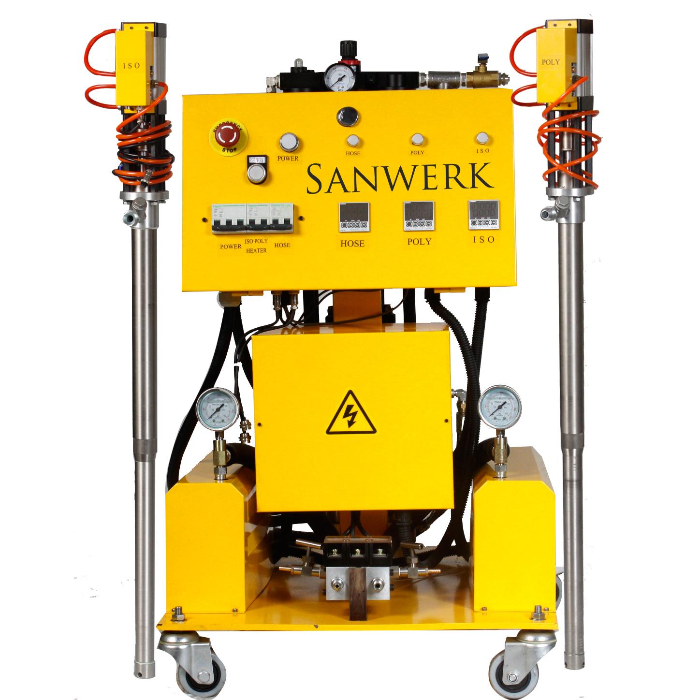 Modne ubrania Maszyna do natrysku pianki poliuretanowej Sanwerk 7342805295 FL94