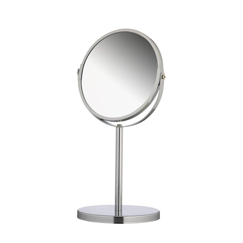 2-stranné kozmetické zrkadlá x3