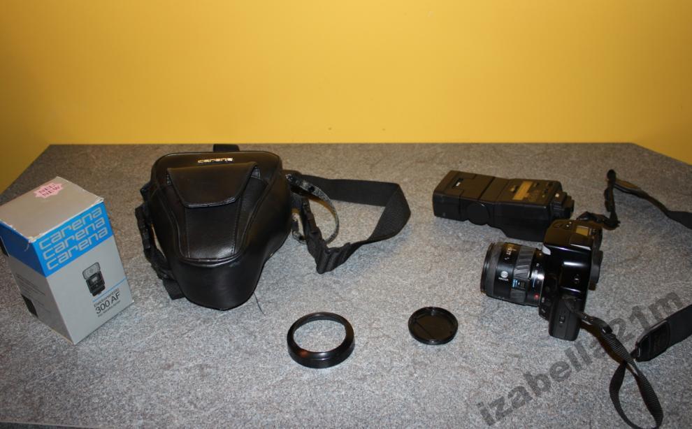 Купить Фотокамера Minolta Dynax 5000i + объектив + вспышка на Otpravka - цены и фото - доставка из Польши и стран Европы в Украину.